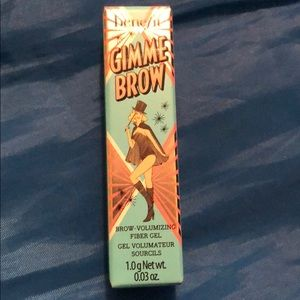 Benefit gimme brow shade 5 deep, black brown